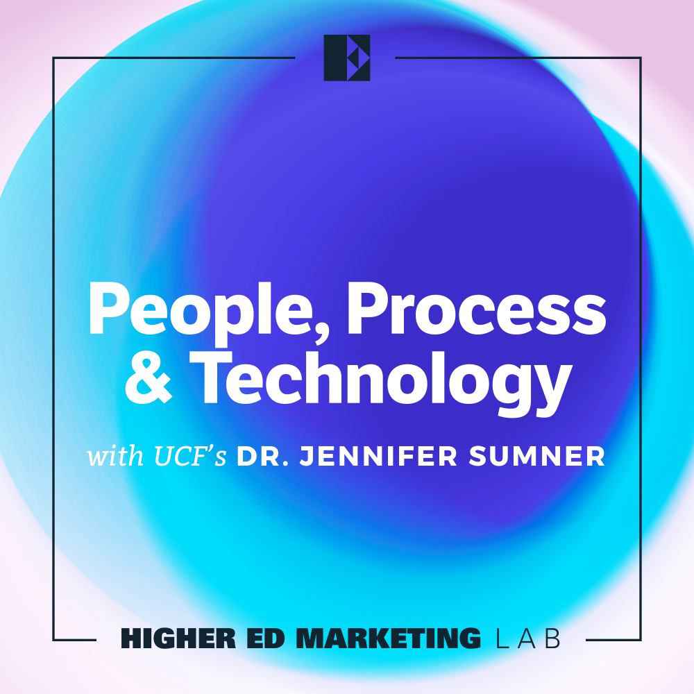 Episode Cover Art: People, Process, and Technology with UCF's Dr. Jennifer Sumner