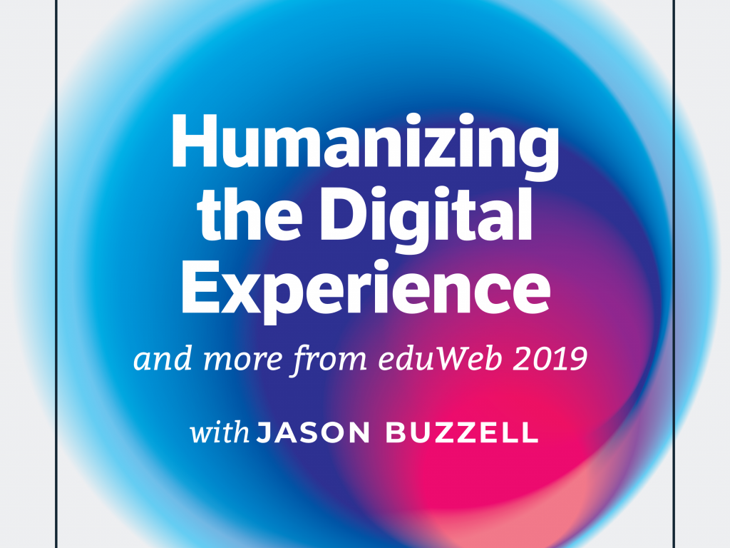 Episode cover art: Humanizing the Digital Experience